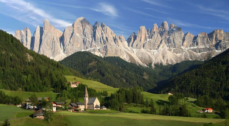 Northern Italy dolomites